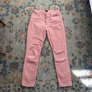 Citizens of humanity pink cords 26